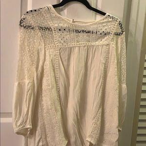 Lace blouse!